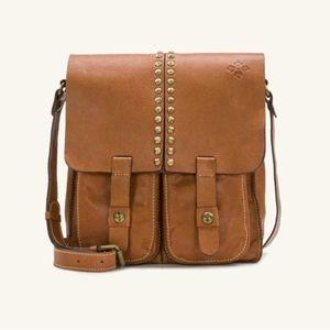 Patricia Nash Armedo Messenger Bag Studded